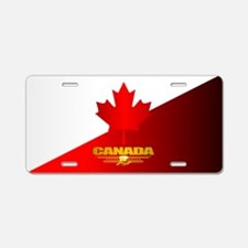 Canada Maple Leaf Aluminum License Plate