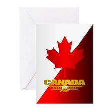 Canada Maple Leaf Greeting Cards