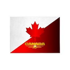 Canada Maple Leaf 5'x7'Area Rug