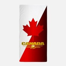 Canada Maple Leaf Beach Towel