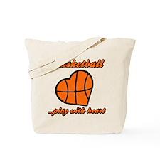 HEART (both sides) Tote Bag
