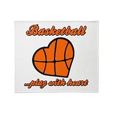 PLAY w HEART Throw Blanket