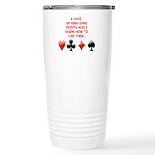 Cute Bridge game Travel Mug