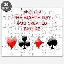 Unique Bridge player Puzzle