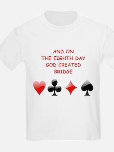 Unique Bridge player T-Shirt
