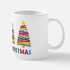 Colorful Christmas Tree Mug