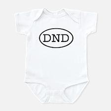 DND Oval Infant Bodysuit