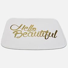 Hello Beautiful Bathmat