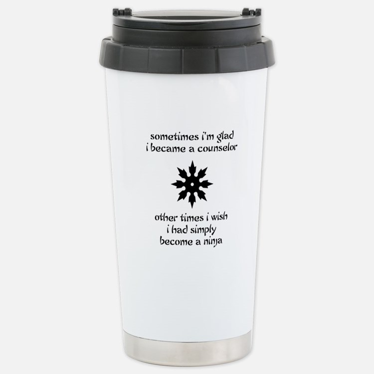 Cute Rehabilitation counselor career Travel Mug