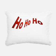 Ho Ho Ho Rectangular Canvas Pillow