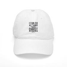 Philippians 4:13 Baseball Baseball Cap