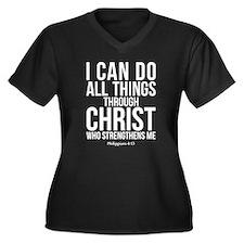 Philippians 4:13 Plus Size T-Shirt