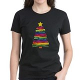 Christmas Womens Dark T-shirts
