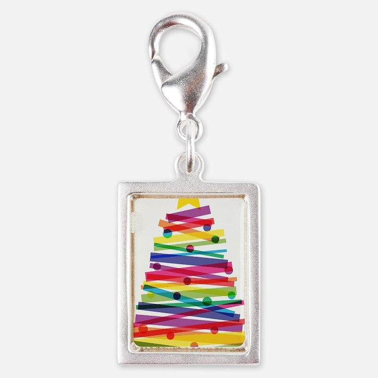 Colorful Christmas Tree Charms