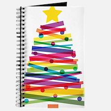 Colorful Christmas Tree Journal
