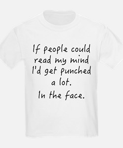 Punched In The Face A Lot T-Shirt
