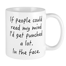 Punched In The Face A Lot Mug