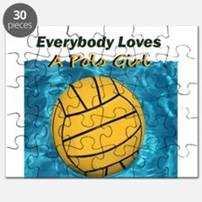 Everybody Loves a Polo Girl Puzzle