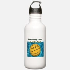 Everybody Loves a Polo Girl Water Bottle