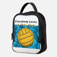 Everybody Loves a Polo Girl Neoprene Lunch Bag