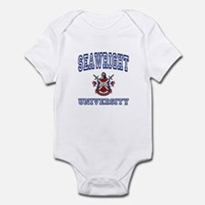 SEAWRIGHT University Infant Bodysuit
