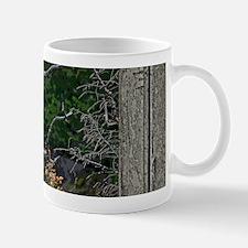 Old Cabin Window Bald Eagle Mug