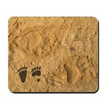 Black Bear Tracks Mousepad