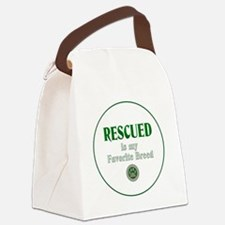 Rescued is my Favorite Breed Canvas Lunch Bag