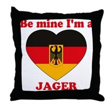 Jager, Valentine's Day Throw Pillow
