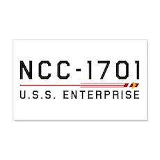USS Enterprise Original Dark Wall Decal