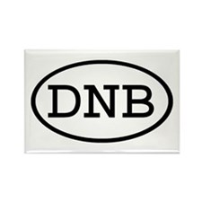 DNB Oval Rectangle Magnet