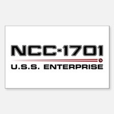 USS Enterprise Refit Dark Decal