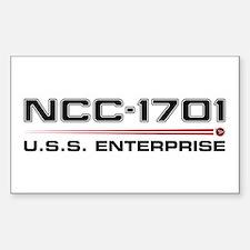 USS Enterprise Refit Dark Stickers