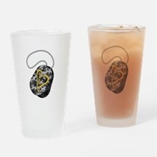 DogTag Drinking Glass