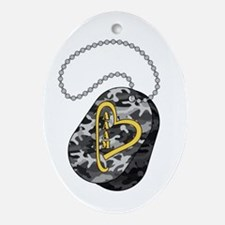 DogTag Ornament (Oval)