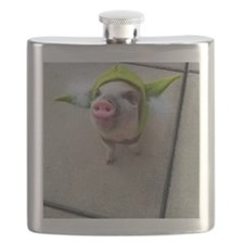 Olive the Yoda Pig Flask