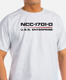 USS Enterprise-D Dark T-Shirt