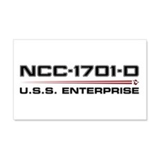 USS Enterprise-D Dark Wall Decal