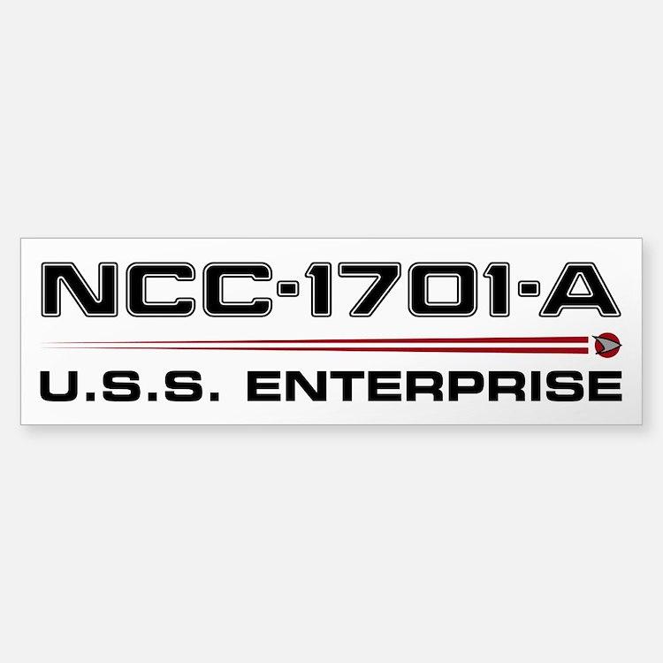 Enterprise-A Bumper Bumper Sticker