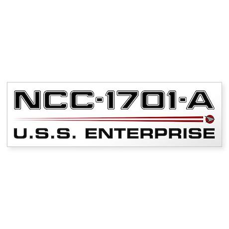 Enterprise-A Sticker (Bumper)