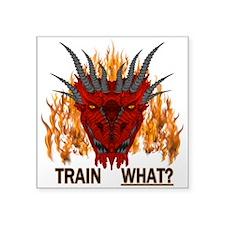 Train What? Sticker