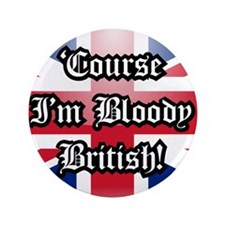 """British 3.5"""" Button"""