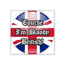 British Sticker