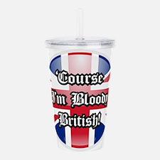 British Acrylic Double-wall Tumbler