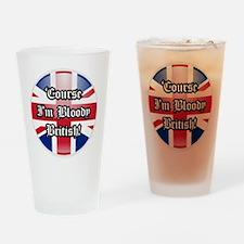 British Drinking Glass