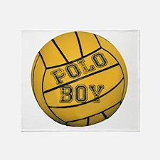 Polo Boy Throw Blanket