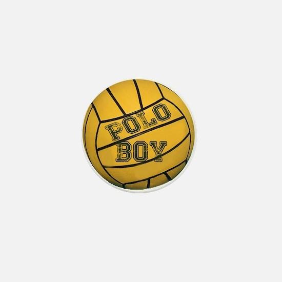 Polo Boy Mini Button