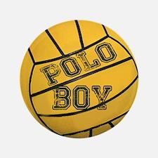 """Polo Boy 3.5"""" Button"""