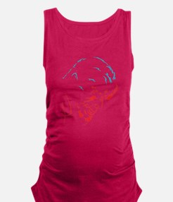 The Wolfman Maternity Tank Top
