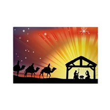 Cute Three wise men Rectangle Magnet (10 pack)